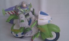 Adorable Disney Toy Story 'Buzz Lightyear & his Motorbike' Push Along Toy